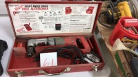 Milwaukee 100V right angle drive drill