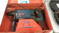 """Bosch 1"""" rotary hammer with case"""