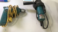 Makita electric drill and disc grinder