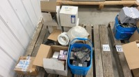 Pallet of miscellaneous electrical