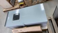 (3) Large heavy duty lockable panel boxes