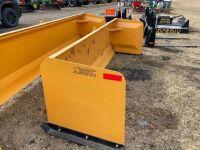 *New 9' Snow Pusher Skid Steer Mount (K54)