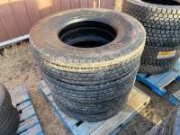 *K50 11R22.5 Mirage MG111 Semi Steer Tires