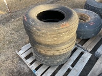 *11L-15 Imp tires, 2 on rims (K31)
