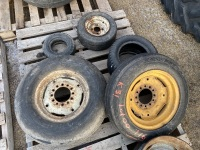 *pallet of assorted tires (K31)