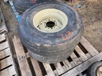 *12.5-15 imp tires on rims (K34)
