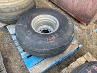*14L-16.1 imp tire on rim (K51)