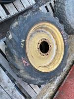 * 9-24 imp tires on rims (K31)