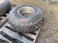 *16.5-16.1 imp tire on rim (K31)
