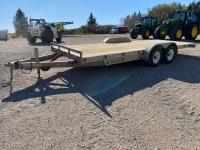 *2007 20' H&H Speed Loader MX aluminum TA tilt deck trailer, VIN#4J6A3202X7B094007, Owner: Philip E Sheane, Seller: Fraser Auction_________