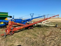 "**Farm King 10""x70'PTO swing hopper auger"