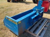 *6' Fleming 3PT dumping material bucket