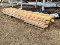 *Lift of rough cut 2x6x12 planks – Approx 30 planks -NEW
