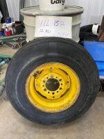 New 11L-15SL tire on 6-bolt rim