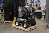 *Magnum Series, hot water, gas driven, 14hp electric start Kohler, 4 GPM @4000 PSI, EK pump, 12V Burner