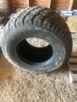 600/50-22.5 used tire (was spare for Pro-Til (needs to be used with a tube)