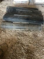 (5) feeder housing belts for JD 9600 combine (used when harvesting Hemp)