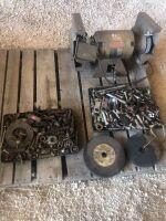 bench grinder & misc bolts
