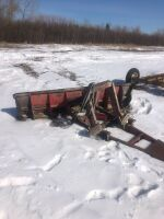 8' front mount tractor blade