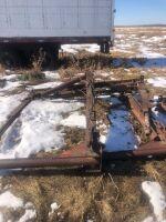 (3) log bunks for trailer