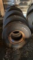 8-14.5LT trailer tireon rims
