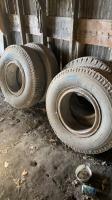 10.00R20 truck tireon rim
