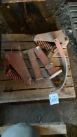 Frigstadd cultivator Shank assembly and frame extension