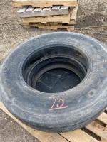 *22.5 steering tires (used)