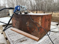 *75-gal skid tank w/GPI 12-volt pump & nozzle