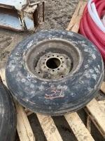 9.5L-15 impliment tire on rim