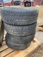 LT265/70R17 Michelin tire