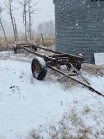 *4-wheel farm wagon