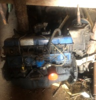 300 Ford motor w/3speed trans