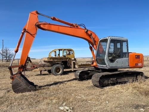 *Hitachi EX120 Series II Track Excavator, s/n12N-30347