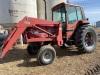 *IH 3688 2wd 125hp tractor w/IH 2355 loader, s/n002540