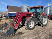 *CaseIH MXU125 MFWD 125hp Tractor, s/nACP27054