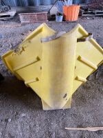 *poly auger hopper (yellow)
