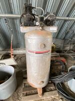 """*5hp Sanborn upright air compressor """"AS IS"""""""