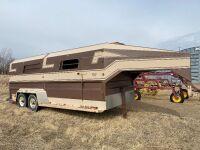 *1993 Norbert's 20'x8' t/a stock trailer, VIN# 2N9C7S729PG17743, Owner: Randy J Pawich Seller: Fraser Auction___________***TOD***