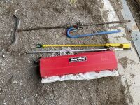 *Easy-way approx oiler, cattle prod, calf catcher, calf puller, sorting cane