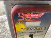 *ParMac 25 miles solar fence & spare solar panel