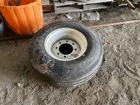 *11L-15FI tire on 8-bolts rim