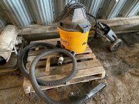*Craftman shop vac w/wheel kit