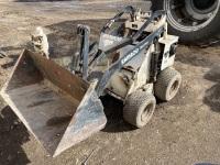 """*Ram Rod 230 Mini Skid Stand on loader w/Kohler engine, 42"""" bucket with grapple 42"""" bucket"""