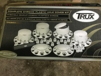 *New Trux Chrome/Plastic wheel kit