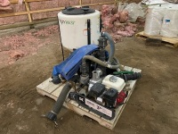 *Poly West Handler chemical mix system