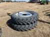 *(4) 380/90R46 Goodyearin-crop tires on rims for Patriot sprayer - 5