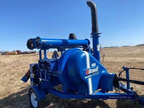 *Brandt 5000 EX grain vac, s/n8787709