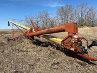 """*10""""x61' Westfield PTO swing hopper auger, s/n69131"""
