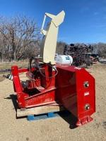 "*96"" FarmKing dbl auger 3pt snow blower"